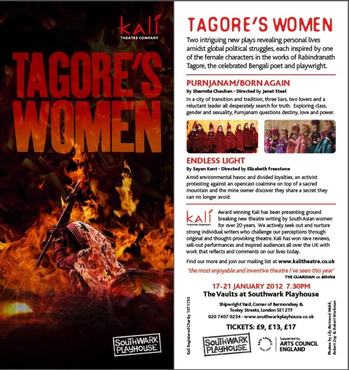 Tagore's Women eflyer