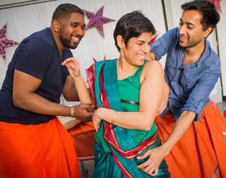 Rehearsals for The Husbands - Kali Theatre and Pentabus Theatre